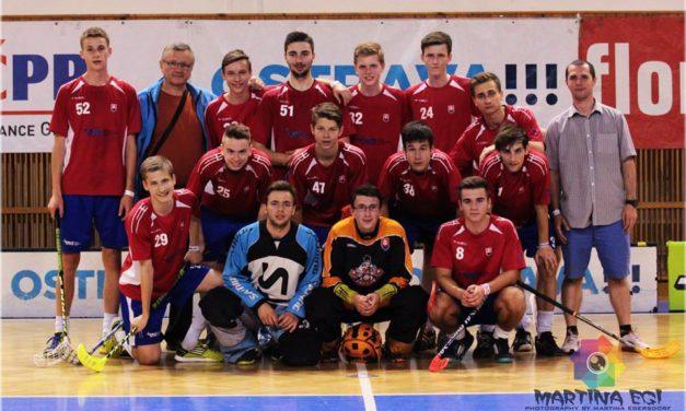 Slovenská juniorská reprezentácia sa pripravuje na budúcoročné MS.