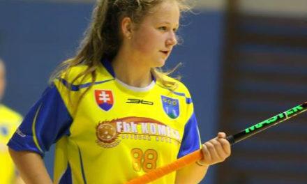 Veľké talenty slovenského florbalu – Kristína Hudáková