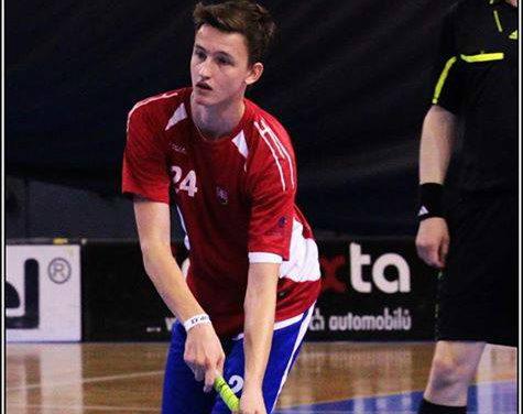 Veľké talenty slovenského florbalu – Martin Grlický.
