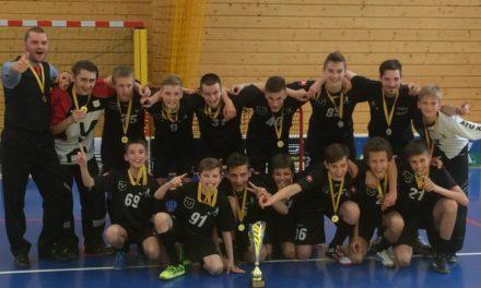 Majstrovstvá Slovenska starších žiakov ovládli domáce ATU Košice.