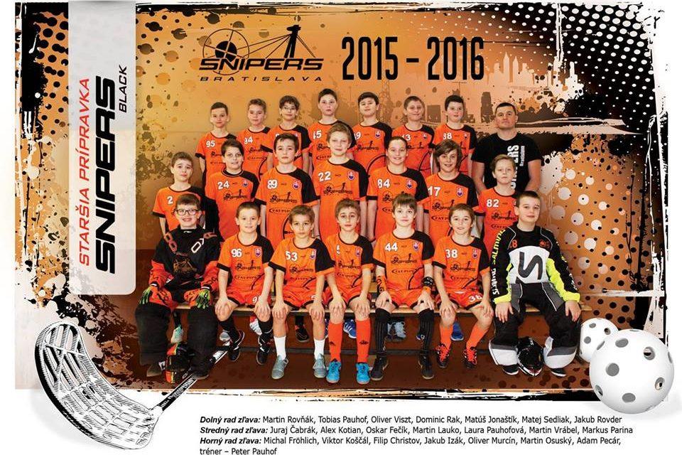 Prípravkári zo Snipers Bratislava cestujú na turnaj do fínskeho Tampere.