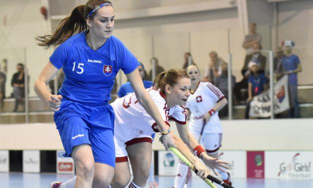 MS-Juniorky: Slovenky vstúpili do šampionátu prehrou so Švajčiarskom.