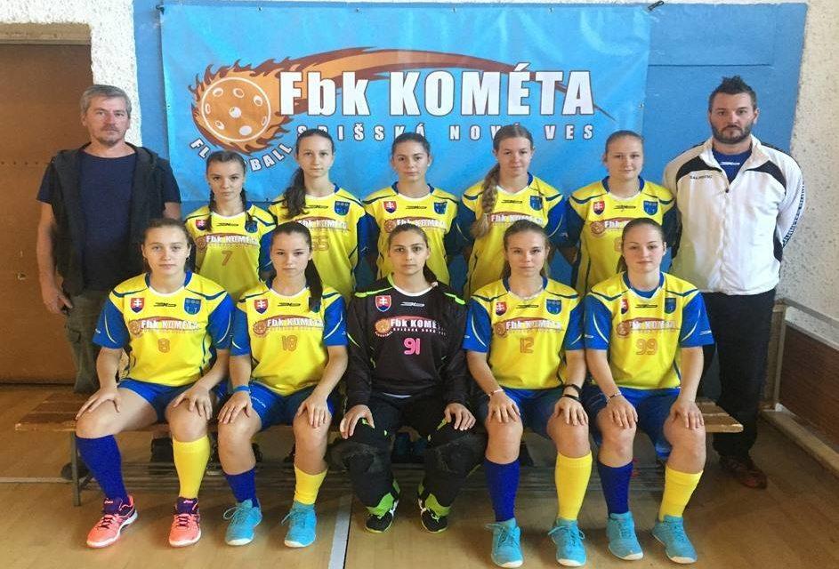 Spišská Kométa cestuje do Nemecka na Euro Floorball Cup.