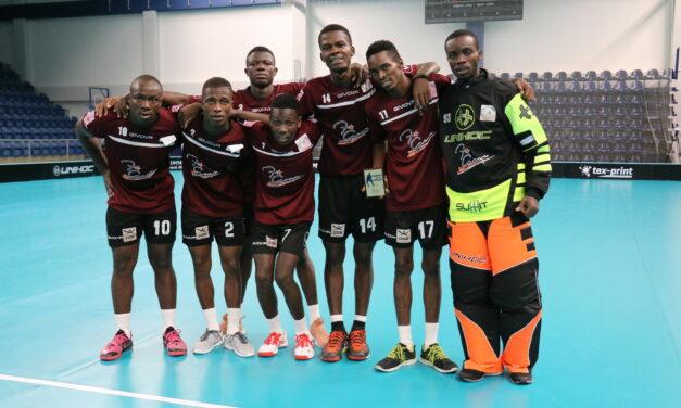 Sedem statočných Afričanov v Poprade.