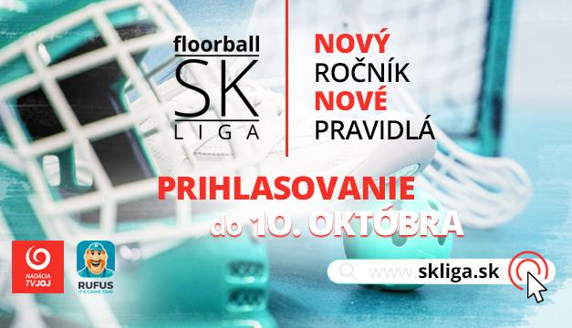 Nadácia TV JOJ spustila prihlasovanie do floorball SK LIGY 2021/2022